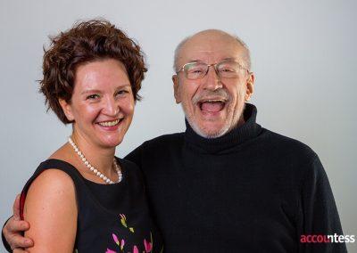 Mihaela si Victor Rebengiuc